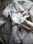 "white ""Emma Frost"" coat"