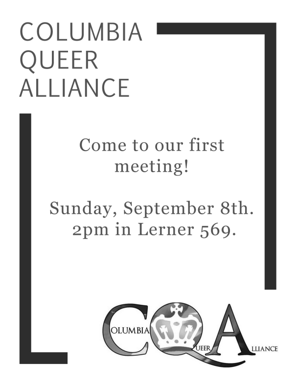 Come to Our First Meeting!