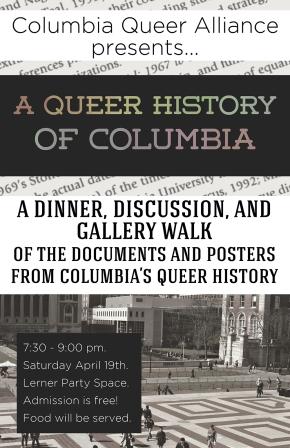 Queer Histories Dinner