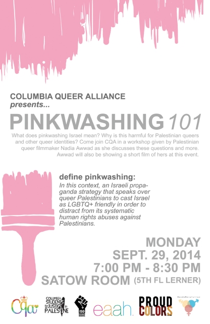 Queering Disability Discussion & Pinkwashing 101 Event